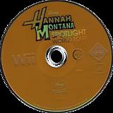 Hannah Montana: Spotlight World Tour Wii disc (RHQY4Q)