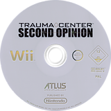 Trauma Center: Second Opinion Wii disc (RKDP01)