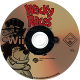 Wacky Races: Crash & Dash Wii disc (RWRP4F)
