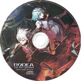 Rodea the Sky Soldier Wii disc (SROPNS)