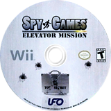 Spy Games: Elevator Mission Wii disc (RECE6K)