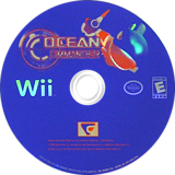 Ocean Commander Wii disc (RQMEVN)