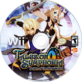 Tales of Symphonia: Dawn of the New World Wii disc (RT4EAF)