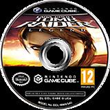 Lara Croft Tomb Raider: Legend GameCube disc (GL8D4F)