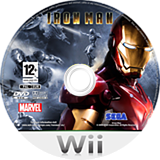 Iron Man: The Video Game Wii disc (RIRP8P)