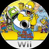 Die Simpsons: Das Spiel Wii disc (RSND69)