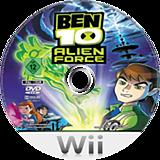 Ben 10: Alien Force Wii disc (RWTPG9)