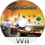 Need for Speed: Undercover Wii disc (RX9X69)