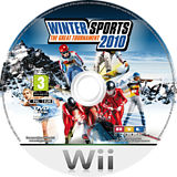 Winter Sports 2010: The Great Tournament Wii disc (RZIPRT)