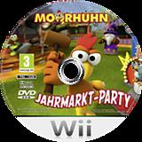 Moorhuhn - Jahrmarkt-Party Wii disc (SCUPFR)