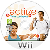 EA Sports Active: Mehr Workouts Wii disc (SEAP69)