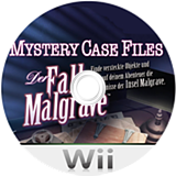 Mystery Case Files: Der Fall Malgrave Wii disc (SFIP01)