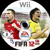FIFA 12 Wii disc (SI3X69)