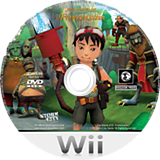 The Island of Dr. Frankenstein Wii disc (SIFPNJ)