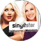SingItStar Britney vs Christina CUSTOM disc (SISPBC)