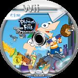 Phineas und Ferb:Quer durch die 2. Dimension Wii disc (SMFP4Q)