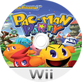 Pac-Man Party Wii disc (SP7PAF)