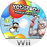 Yetisports: Penguin Party Island Wii disc (SPYDSV)