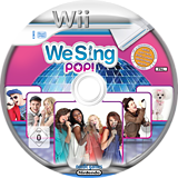 We Sing Pop! Wii disc (SQEPNG)