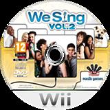 We Sing Vol. 2 Wii disc (SSEPNG)