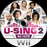 U-Sing 2 Wii disc (SU3DMR)