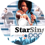 StarSing:Pop Part. II v2.0 CUSTOM disc (CS1PZZ)