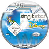 SingItStar: Best of Disney CUSTOM disc (DMSP4Q)