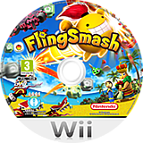 FlingSmash Wii disc (R22P01)