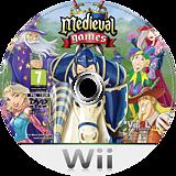 Medieval Games Wii disc (R2OP68)