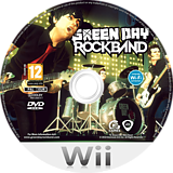 Green Day: Rock Band Wii disc (R36P69)