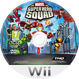 Marvel Super Hero Squad Wii disc (R38P78)