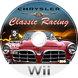 Chrysler Classic Racing Wii disc (R3CP7J)