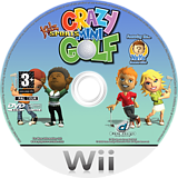 Kidz Sports: Crazy Mini Golf Wii disc (R3GXUG)