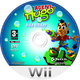 Agent Hugo: Hula Holiday Wii disc (R3HX6Z)