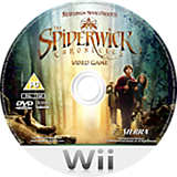 The Spiderwick Chronicles Wii disc (R48P7D)