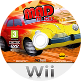 Mad Tracks Wii disc (R4IPNK)