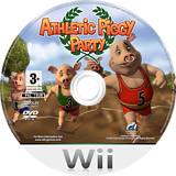 Athletic Piggy Party Wii disc (R4LPUG)