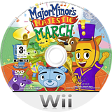 Major Minor's Majestic March Wii disc (R4NP5G)