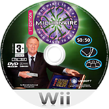 Who Wants To Be A Millionaire: 1st Edition Wii disc (R55P41)