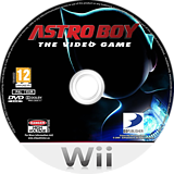 Astro Boy: The Video Game Wii disc (R56PG9)