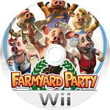 Farmyard Party: Featuring the Olympigs Wii disc (R5OXUG)