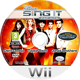Disney Sing It: Pop Hits Wii disc (R62P4Q)