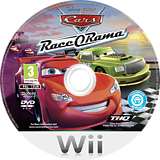 Cars Race-O-Rama Wii disc (R6OP78)