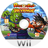 Dragon Ball: Revenge of King Piccolo Wii disc (R7GPAF)