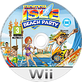 Vacation Isle: Beach Party Wii disc (R7VPWR)
