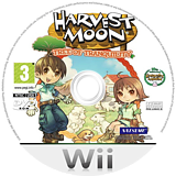 Harvest Moon: Tree of Tranquility Wii disc (R84P99)