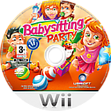 Babysitting Party Wii disc (R8BP41)