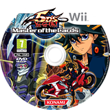 Yu-Gi-Oh! 5D's: Master of the Cards Wii disc (R8DPA4)