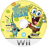 SpongeBob's Truth or Square Wii disc (R8IS78)