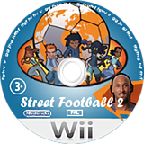 Street Football 2 Wii disc (R8KPKM)